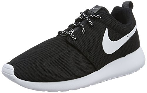 Nike W ROSHE ONE womens running-shoes 844994-002_5.5 - BLACK/WHITE-DARK GREY by NIKE