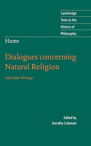dialogues concerning natural religion essay