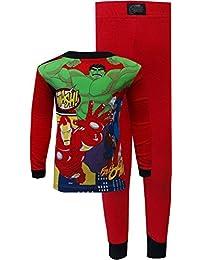 Comics Avengers Cotton Pajamas for Little Boys