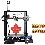 Creality Ender-3 3D Printer V-slot Prusa I3 + Factory Original Supply and Unique Canadian After-sale Service (220*220*250 mm)