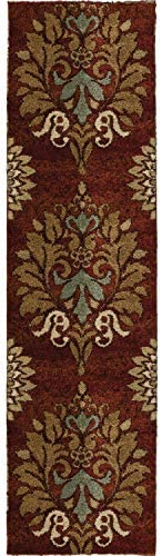 Orian Rugs Wild Weave Jacqueline Rouge Area Rug, 2 3 x 8 , Red