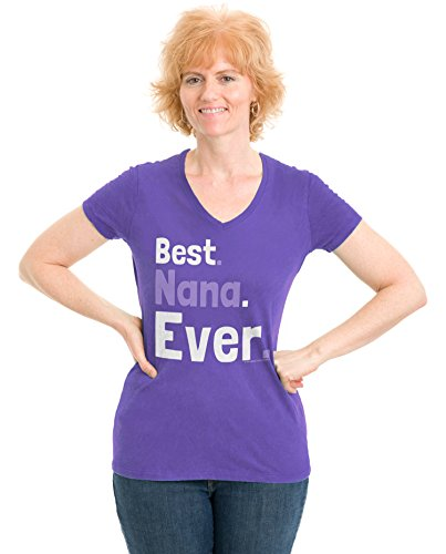 Best Nana Ever | Cute Grandmother, Grandma, Mother's Day Ladies' V-neck T-shirt