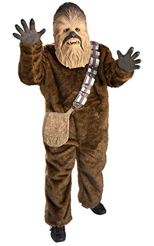 Chewbacca Kids Costumes (Rubie's Costume Star Wars Deluxe Chewbacca Costume,)
