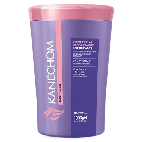 Kanechom Brazilian Hair Treatment With Jaborandi 35.2oz   Creme de Tratamento com Jaborandi 1kg