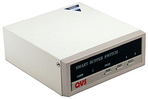 QVS ED732-1 2 x 1 RS232 Serial Auto Buffer Switch