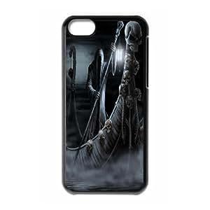 JenneySt Phone CaseSkull Art For Iphone 5c -CASE-13