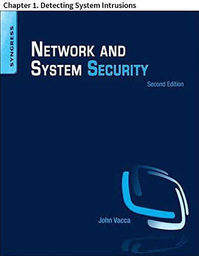 Intrusion Prevention Devices - Network and System Security: Chapter 1. Detecting System Intrusions