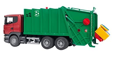 Bruder Scania R-series Garbage Truck - Redgreen from Bruder