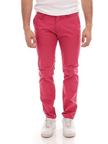 Homme Casual Fuschia Chino Pantalon Ritchie Carl q1wU7IfBx