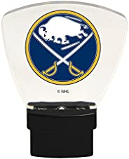 Authentic Street Signs 85303 NHL Buffalo Sabres LED Nightlight, Clear, One Size