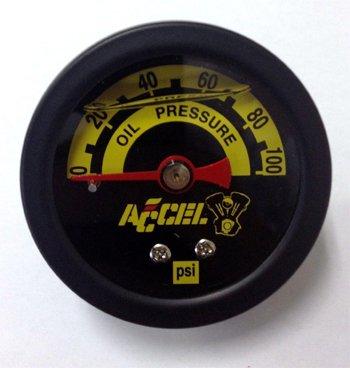 ACCEL 88033 Pressure Gauge by ACCEL