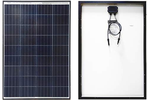 Texas Solar 100 Watt Polycrystalline 100W 12V Poly Solar Panel