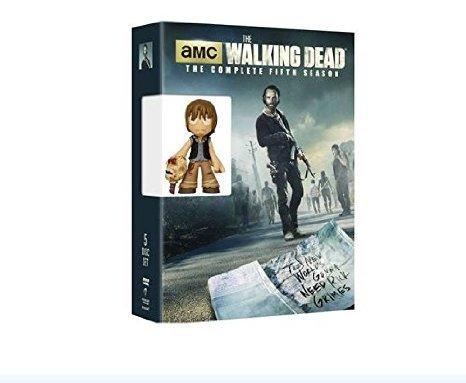 The Walking Dead: The Complete Fifth Season DVD + Funko Toy