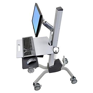 Ergotron Neo-Flex Lcd Cart - Carrito Para Pantalla Lcd/Teclado/Ratón/Escánder De Código De Barras/Cpu ...