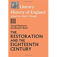 The Literary History of England: Vol 3: The