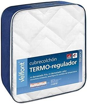 Velfont VELAMEN - Cubrecolchón Termo-regulador Outlast 90