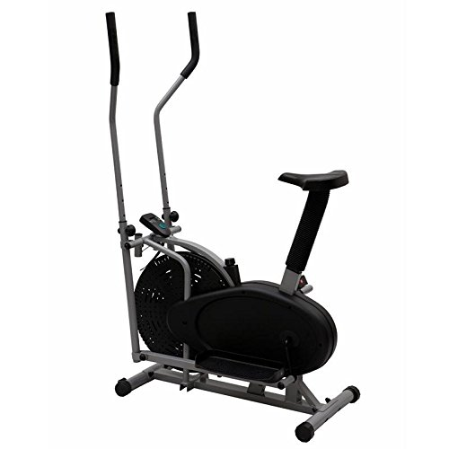 Elliptical Bike 2 IN 1 Cross Trainer Exercise Fitness Machine Gym Workout