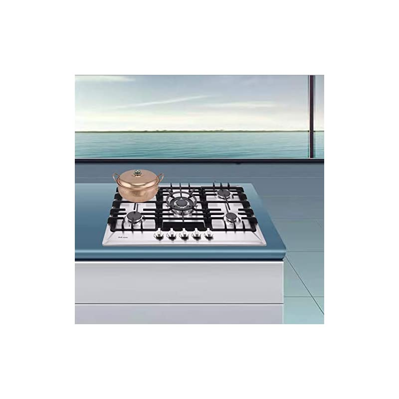 """30"""" Gas Cooktop Dual Fuel 5 Sealed Burners Gas Burner Stainless Steel Drop-In Gas Stove DM527-SA02 Gas Hob Gas Cokker"""