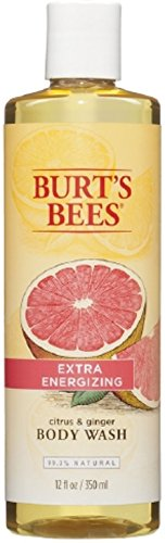 Burts Citrus   Gngr Bdy W Size 12 Oz Burts Bees Extra Energizing Citrus   Ginger Root Body Wash