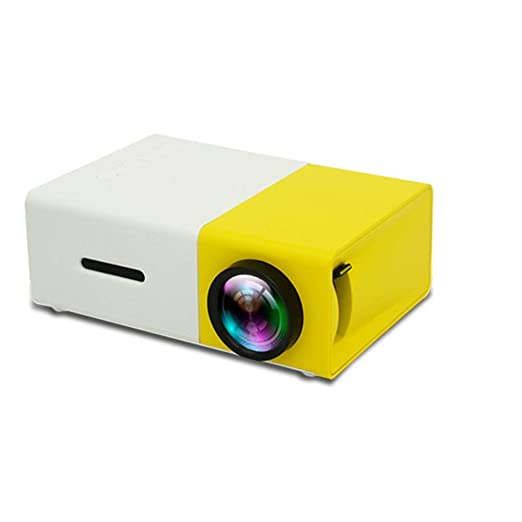 WENXX Mini Proyector Portátil, Videoproyector Compacto, LCD ...