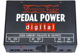 Voodoo Lab Pedal Power Digital Power Supply 120V w/Bonus