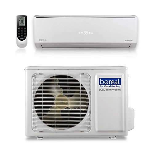 Boreal EQX12HPJ1SB - 12,000 BTU 22 SEER EQUINOX Wall Mount Ductless Mini Split Air Conditioner Heat Pump 208-230V