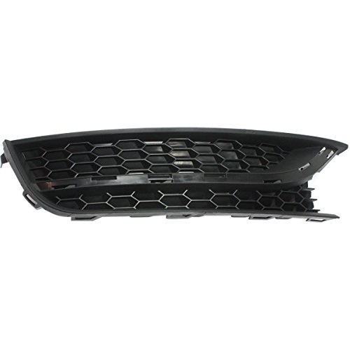 DAT AUTO PARTS Fog Light Cover Replacement for 12-15 Volkswagen Passat Black Right Passenger Side VW1039121