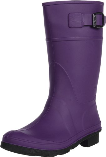 Kamik Raindrops Rain Boot,Eggplant,5 M US Big Kid