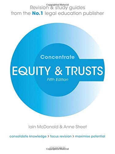 Equity & Trusts Concentrate by imusti