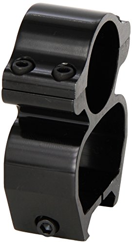 Millett Smooth Aluminum 1-Inch See Thru Scope Mount (Fits Weaver Style Bases)