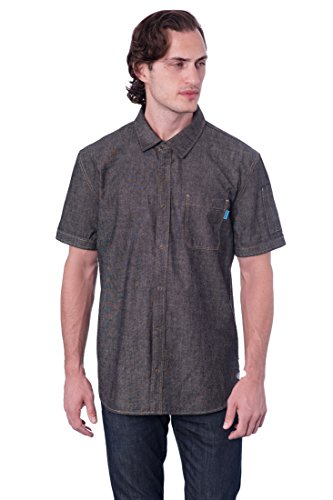 Charcoal Work Shirt (X Large - Chest size 42''-44'') by BlueCut