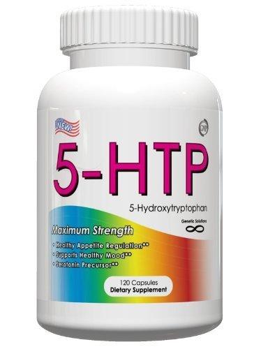 5 HTP- l'équilibre hormonal et Mood Enhancer, 50 mg, 120 capsules, 4 mois d'approvisionnement, (suppresseur de l'appétit, soulagement de l'anxiété et aide à combattre la fatigue !!)