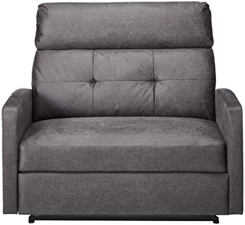 Christopher Knight Home Hana Recliner, Microfiber Slate