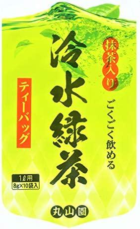 創業90余年丸山園謹製 ごくごく飲める冷水緑茶ティーバッグ 3本セット