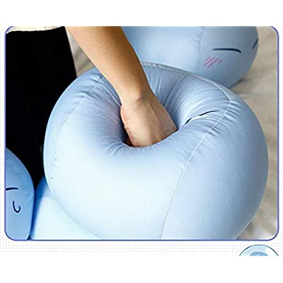 H!FINE Anime That Time I Got Reincarnated as a Slime Rimuru Tempest Cartoon Blue Stuffed Plush Doll Pillow Toy 30CM Decoration Gift (Calm): Kitchen & Dining