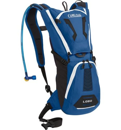 Camelbak Men's Lobo Hydration Pack (100-Ounce/200 Cubic-Inch, Skydiver Blue), Outdoor Stuffs