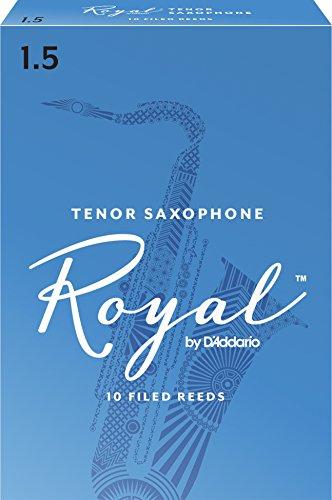 UPC 046716533012, Rico Royal Tenor Sax Reeds, Strength 1.5, 10-pack