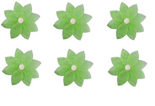 Pack-of-6-Green-Floating-Lotus-Paper-Flower-Outdoor-Patio-Decor-Lanterns