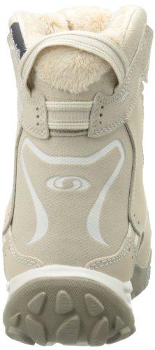 SALOMON Snowtrip TS WP W Eur 101086 - Zapatillas de deporte de cuero para mujer Beige - sand-light grey-thyme