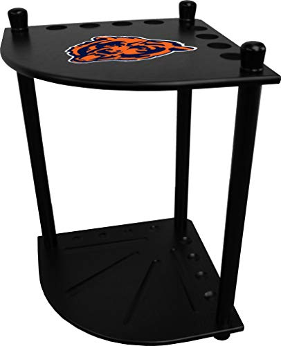 Imperial Officaly Licensed NFL Furniture: Corner Cue Rack, Chicago Bears