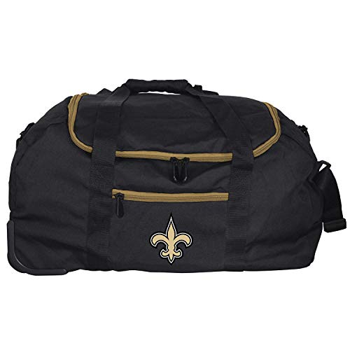 NFL New Orleans Saints Mini Collapsible Duffel, 22-inches
