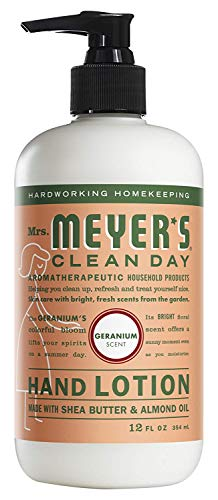 - Mrs. Meyer's Clean Day Hand Lotion, 12 oz (Geranium, Pack - 3)