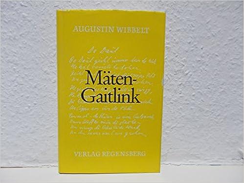 Maten Gaitlink Gedichte In Munsterlander Mundart Livre En