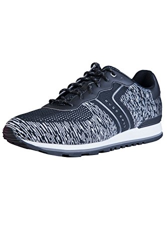 Lace Knit Parkour Runn 50379292 Boss up Hugo Fashion Mens Black Sneakers qEZn8