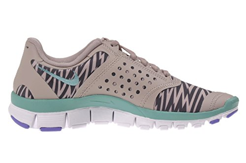Nike Women's WMNS Free 5.0 V4, MEDIUM OREWOOD BROWN/DIFFUSED JADE/IRON ORE/AT (CAMO) Brown