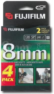 Fuji MP P-6 120 Camcorder Recordable Video Cassette Tapes Discontinued by Manufacturer 4 pack