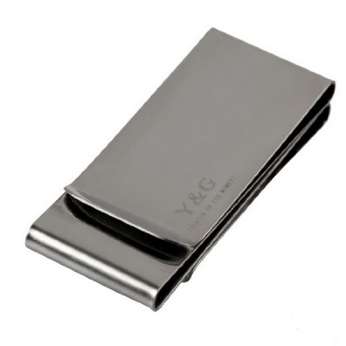 MC104 Double-Sided Smart Money Clip & Credit Card Holder For Men More Choice By Y&G
