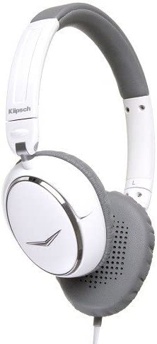 Klipsch Image One Bluetooth On-Ear Headphones, White (Discontinued by Manufacturer)