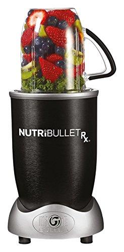 NutriBullet Rx Batidora de vaso 1.3L 1700W Negro - Licuadora (Batidora de vaso,