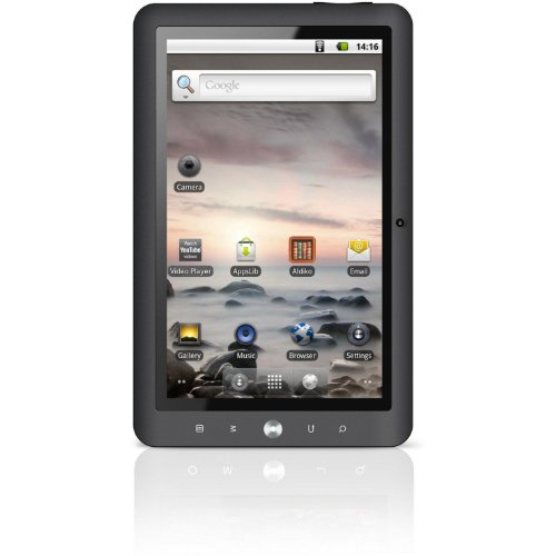Coby Kyros 10.1-Inch Android 2.3 4 GB Internet Tablet with Capacitive Touchscreen - MID1125-4G (Grey) (Kyros Tablet Coby Android)